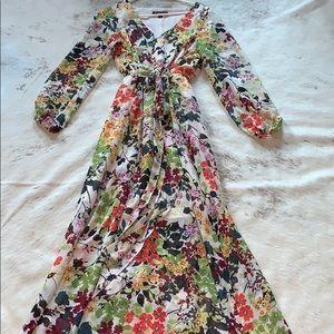 INC Floral maxi dress